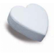 "Heart Chamfered Edge Dummies 7"" x 3"" deep (178mm x 76mm)"